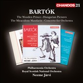 Bartók: The Wooden Prince; Hungarian Pictures; The Miraculous Mandarin; Concerto for Orchestra / Neeme Järvi