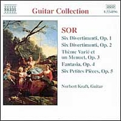 Guitar Collection - Sor: Divertimenti, etc / Norbert Kraft