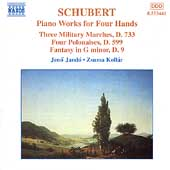 Schubert: Piano Works for Four Hands / Jandö, Kollár
