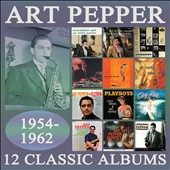 Art Pepper: 12 Classic Albums: 1954-1962 [Box]