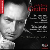 Schumann: Symphony No. 3; Tchaikovsky: Symphony No. 2 / Carlo Maria Giulini, The Philharmonia London