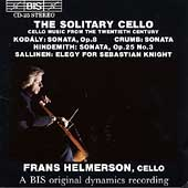 The Solitary Cello / Frans Helmerson