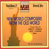 New World Composers from the Old World