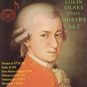 Colin Tilney plays Mozart Vol 2 - Sonatas, Suite, et al