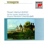 Mozart: Clarinet Quintet, etc / Neidich, L'Archibudelli
