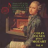 Colin Tilney plays Mozart Vol 4