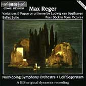 Reger: Variations & Fugue on a theme by Beethoven, etc.