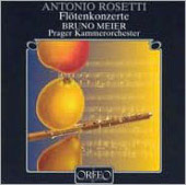 Rosetti: Flute Concertos / Meier, Prague CO