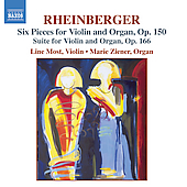 Rheinberger: Works for Violin and Organ / Most, Ziener