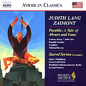 American Classics - Zaimont: Parable, Sacred Service
