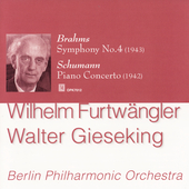 Schumann, Brahms: Piano Concertos / Gieseking, et al