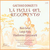 Donizetti: La figlia del reggimento, etc / Martinotti, et al