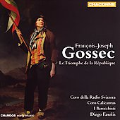 Gossec: Le Triomphe de la R&eacute;publique / Fasolis, et al