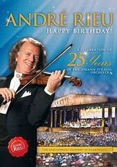André Rieu - Happy Birthday: Celebrating 25 Years of the Johann Strauss Orchestra [Blu-Ray]
