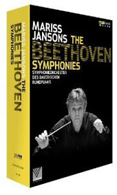 Beethoven: The Nine Symphonies, plus rehearsal footage / Karg, Fujimura, Schade, Volle. Jansons, Bavarian RSO (live, Suntory Hall, Tokyo, 2012) [3 DVD]