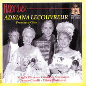Adrianna Lecouvreur (Cilea) Olivero, Corelli, 1959