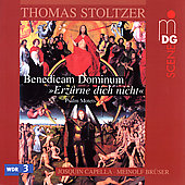 Stoltzer: Erzurne dich night / Bruser, Josquin Capella