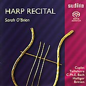 Harp Recital - Bach, Britten, Holliger / Sarah O'Brien