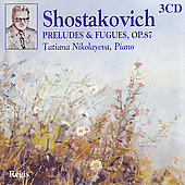 Shostakovich: Complete Preludes & Fugues Op 87 / Nikolayeva