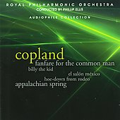 Copland: Ballet Suites, Fanfare / Philip Ellis, Royal PO