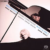 Beethoven: Piano Concerto no 2 & Piano Concerto in E flat major / Ronald Brautigam, Andrew Parrott, et al