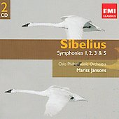 Sibelius: Symphonies 1, 2, 3 & 5 / Mariss Jansons, et al