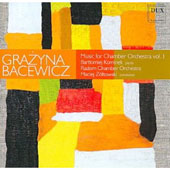 Music for Chamber Orchestra / Zoltowski, Bacewicz, Radom Chamber Orchesta