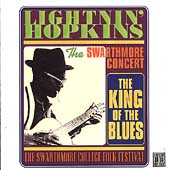 Lightnin' Hopkins: Swarthmore Concert