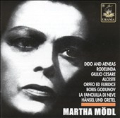 Martha Mödl Sings Opera Arias and Lieder