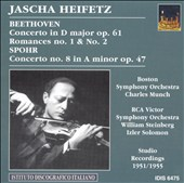Heifetz plays Beethoven & Spohr