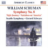 William Schuman: Symphony No.8; Night Journey