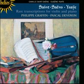 Rare Violin Transcriptions / Philippe Graffin
