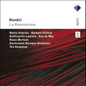 Handel: La Resurrezione / Koopman