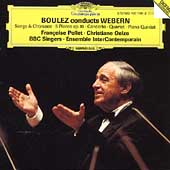 Boulez conducts Webern / Ensemble InterContemporain