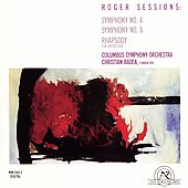 Sessions: Symphony nos 4 & 5, etc / Badea, Columbus SO