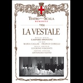 Garpare Spontini: La Vestale (1954) / Callas, Corelli, Votto [CD+Book]