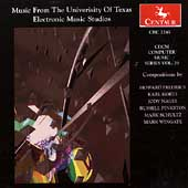 CDCM Computer Music Vol 20 - University of Texas Studios