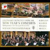 Legendary Moments of the New Year's Concert / Karajan, Kleiber, Maazel, Mehta
