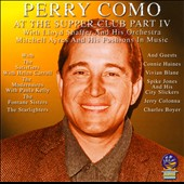 Perry Como: At The Supper Club, Vol. 4