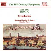 Beck: Symphonies / Nicholas Ward, Northern Chamber