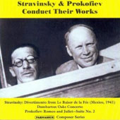 Stravinsky & Prokofiev Conduct Their Works