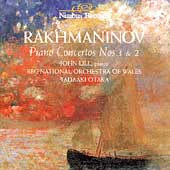 Rakhmaninov: Piano Concertos no 1 & 2 / Lill, Otaka, BBC