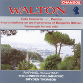 Walton: Cello Concerto, etc / Wallfisch, Thomson, London PO