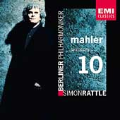 Mahler: Symphony no 10 / Rattle, Berlin Philharmonic