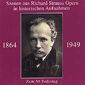 Richard Strauss Opera Scenes - Historical Recordings 1928-43