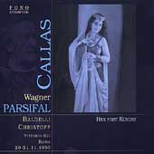 Wagner: Parsifal / Gui, Callas, Baldelli, Panerai, et al