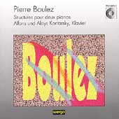 Boulez: Structures pour deux pianos / Kontarsky & Kontarsky