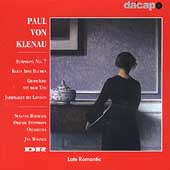 Klenau: Symphony no 7, Klein Idas Blumen, etc / Jan Wagner