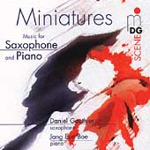 SCENE  Miniatures for Saxophone and Piano / Gauthier, Bae