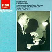 Beethoven: Piano Sonatas no 27-32/ Solomon